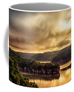 Coffee Mug featuring the photograph Summersville Lake At Daybreak by Thomas R Fletcher