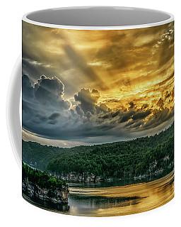 Summersville Lake Sunrise Coffee Mug