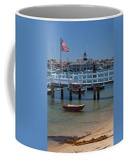 Summertime In  Newport Beach Harbor Coffee Mug
