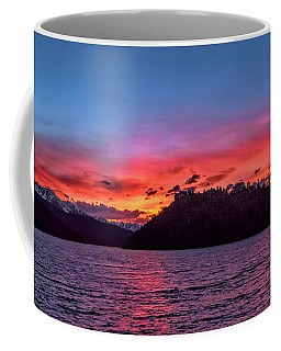 Summit Cove And Summerwood Sunset Coffee Mug