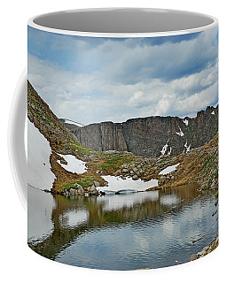 Summit Lake In Summer Coffee Mug