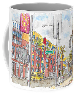 Sunset Blvd, And Hayworth, West Hollywood Coffee Mug