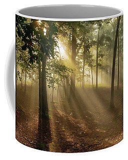 Sun And Clouds Coffee Mug