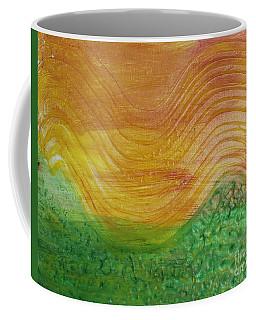 Sun And Grass In Harmony Coffee Mug