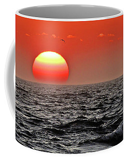Sun And Sea Gull Ver1 Coffee Mug