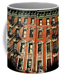 Sun And Shadow - The Rhythm Of New York Coffee Mug