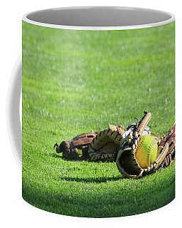 Sun Bathing Coffee Mug by Laddie Halupa
