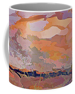 Sun Breaks Through Coffee Mug