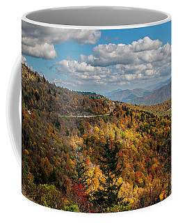 Sun Dappled Mountains Coffee Mug