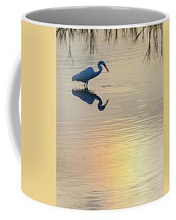 Sun Dog And Great Egret 3 Coffee Mug