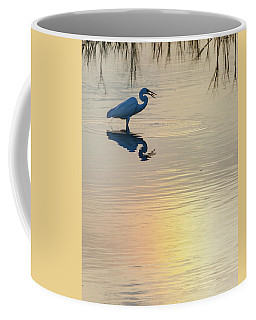 Sun Dog And Egret 4 Coffee Mug