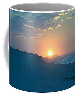 Coffee Mug featuring the photograph Sun Dune by  Newwwman