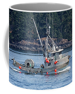 Sun Fisher Off Campbell River Coffee Mug