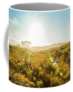 Sun Flare Prairie  Coffee Mug