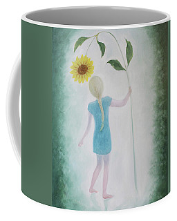 Sun Flower Dance Coffee Mug by Tone Aanderaa