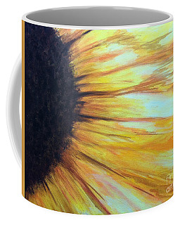 Sun Flower Coffee Mug by Sheron Petrie