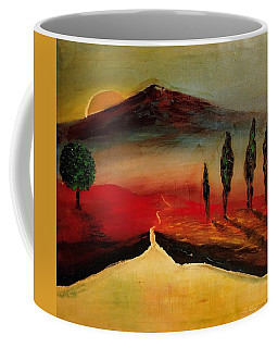Sun Going Down Coffee Mug
