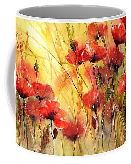Sun Kissed Poppies Coffee Mug