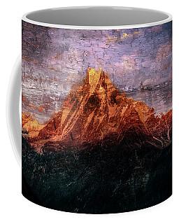 Sun Kissing The Mountain Tops Coffee Mug
