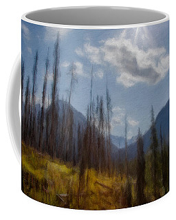 Sun Light In The Forest Coffee Mug