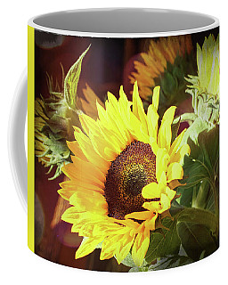 Coffee Mug featuring the photograph Sun Of The Flower by Michael Hope