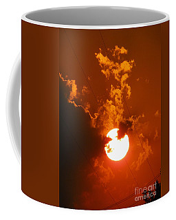 Sun On Fire Coffee Mug