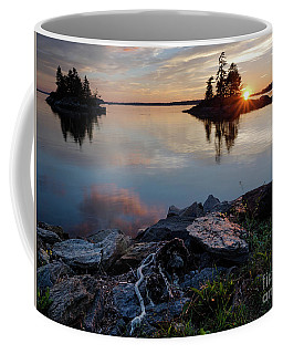 Sun On The Horizon, Harpswell, Maine  #99068-71 Coffee Mug