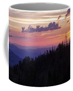 Sun Over Cedar Coffee Mug