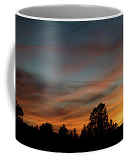 Sun Pillar Sunset Coffee Mug