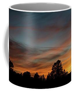 Coffee Mug featuring the photograph Sun Pillar Sunset by Jason Coward