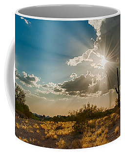 Coffee Mug featuring the photograph Sun Rays In Tucson by Dan McManus