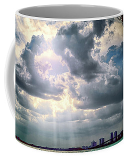 Sun Rays Over Miami Coffee Mug