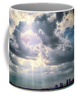 Sun Rays Over Miami Coffee Mug