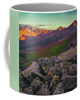 Coffee Mug featuring the photograph Sun Set by Vladimir Kholostykh