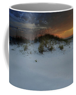 Sun Setting Behind The Dunes 2 Coffee Mug