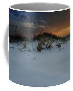 Sun Setting Behind The Dunes 2 Coffee Mug
