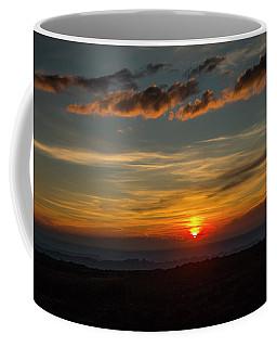 Sun Settling Into The Canyons Coffee Mug