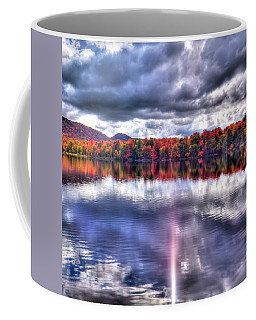 Coffee Mug featuring the photograph Sun Streaks On West Lake by David Patterson