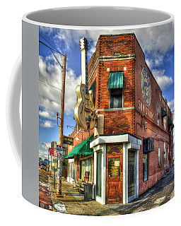 Sun Studio Rock N Roll Birthing Place Memphis Tennessee Art Coffee Mug