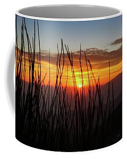 Sun Through The Blades Coffee Mug