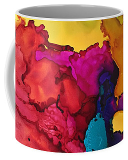 Sun Through The Boulders Coffee Mug
