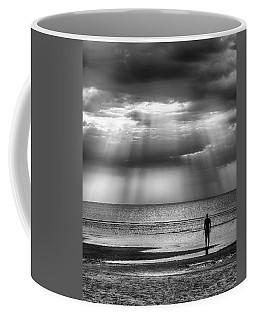 Sun Through The Clouds Bw 11x14 Coffee Mug