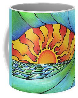 Sun Through The Curl Coffee Mug