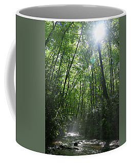 Sun Through The Trees Coffee Mug