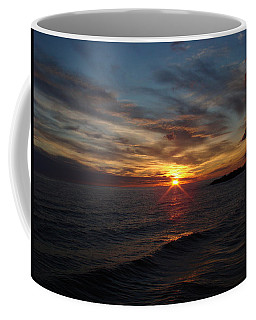 Coffee Mug featuring the photograph Sun Up by Bonfire Photography