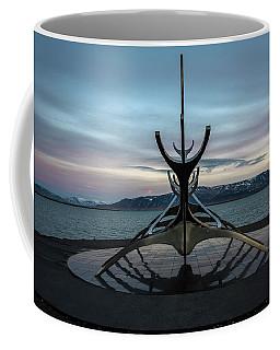 Sun Voyager At Dawn Coffee Mug