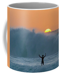 Sun Worship Coffee Mug by Alex Lapidus