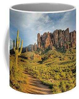 Sunbreak At Lost Dutchman Coffee Mug