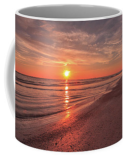 Sunburst At Sunset Coffee Mug