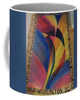 Sunburst Floorcloth Coffee Mug